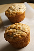 Two Whole Banana Muffins