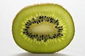 Close Up of a Kiwi Slice