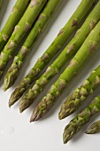 Tips of Asparagus Spears