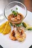 Key West Shrimp Ceviche with Fresh Jalapenos