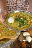 Dal, Indian Rice and Vegetable Porridge