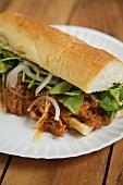 Panes Con Pavo, Salvadoran Turkey Sandwich
