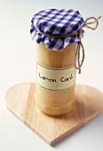 Jar of Homemade Lemon Curd