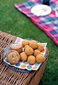Scotch Eggs and Pork Pies at a Picnic