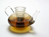 Tea Infusing in a Glass Tea Pot