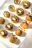 Various Hors d'oeuvres on a Platter