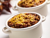 Chili Con Carne with Melted Cheese