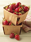 Fresh Strawberries in Two Quart Boxes