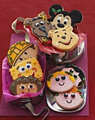Assorted Decorated Kids Cartoon Cookies