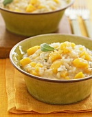 Bowl of Squash Risotto