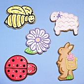 Assorted Spring Cut-Out Cookies