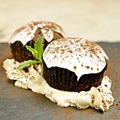 Guinness Cupcakes with Mocha Frosting