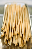 Many Thin Bread Sticks