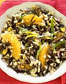 Wild Rice with Orange Slices