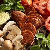 Still Life of Italian Ingredients