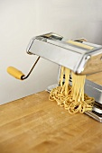 Making Tagliatelle with a Pasta Maker