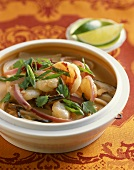 Bowl of Asian Shrimp Soup