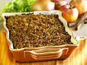 Stuffing in a Baking Dish