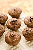 Mini Brownie Muffins