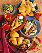 Variety of Southwestern Foods