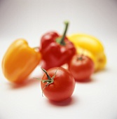 Assorted Tomatoes and Bell Peppers