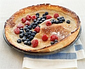 Dutch Baby with Berries
