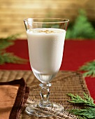 Glass of Egg Nog