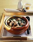 Tofu and Mushroom Soup