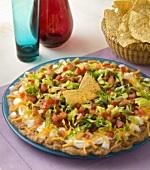 A Taco Salad Platter