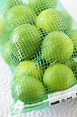 Key Limes in a Netted Bag