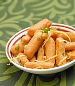 Cooked Baby Carrots with Lemon Zest