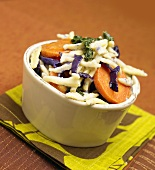 Salad of Carrots, Jicama and Red Cabbage