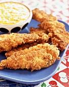 Chicken Tenders (Panierte Hähnchenbruststücke)