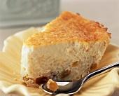 Slice of Rice Pudding Torte