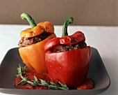 Two Stuffed Bell Peppers