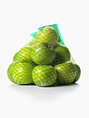 Granny Smith Apples in a Netted Bag