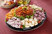 Cheese and Meat Deli Platter