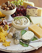 Cheese and Fruit Platter for Party