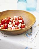 Cherry Tomato and Feta Cheese Salad