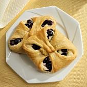 Homemade Blueberry Cream Cheese Pastries