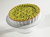 Whole Kiwi Ricotta Cheese Tart