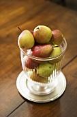 Pear Centerpiece on a Table