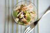 Seafood Salad; From Above