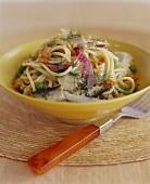 Pasta with Fish and Veggies