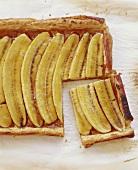 Baked Banana Tart