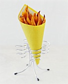 Paper Cone of French Fries