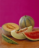 Various Melon Slices