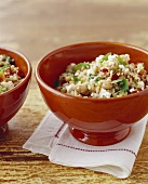 Two Bowls of Tabouleh