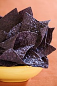 Bowl of Blue Corn Chips