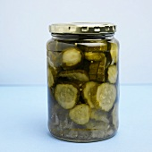 Jar of Sliced Pickles